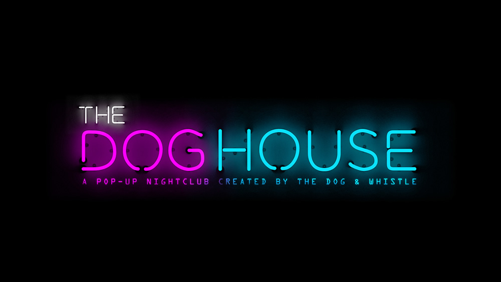 pop up nightclub dog whistle style stable web design